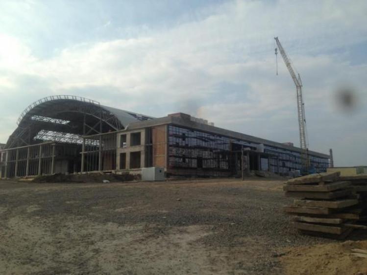 Спорткомлекс будівництво
