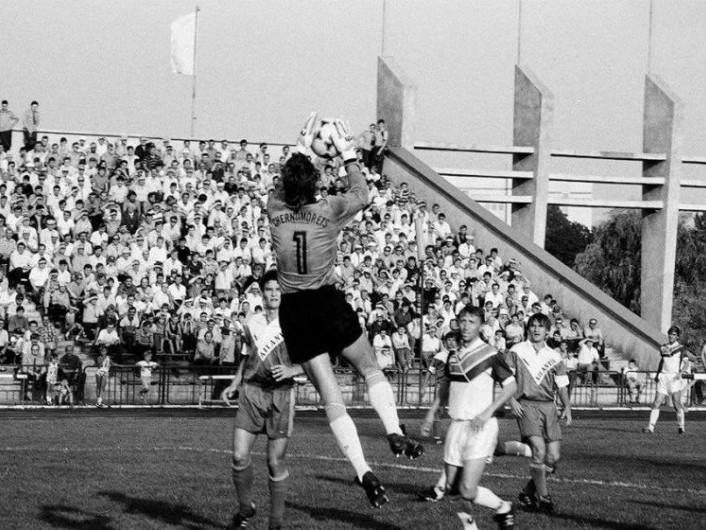 «Верес» атакує ворота «Чорноморця»