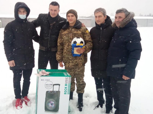 Футболіст Артем Федецький здійснив мрію учня ковельського військового ліцею