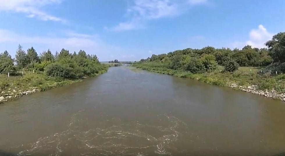 Річка у Воскодавах, що на Гощанщині