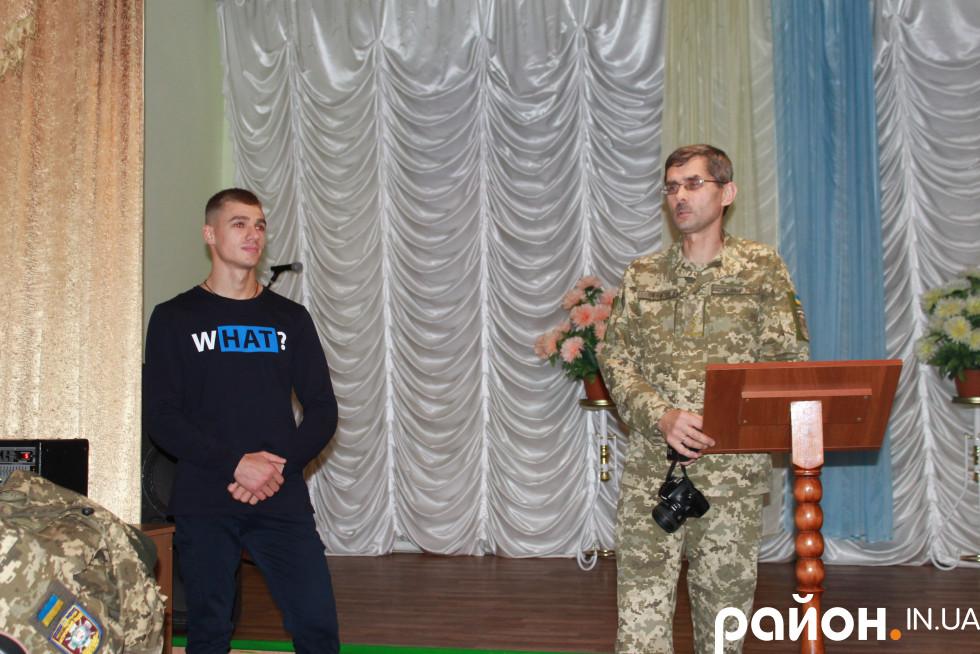 Василь Гілянчук іноді навідується в Рідний ліцей