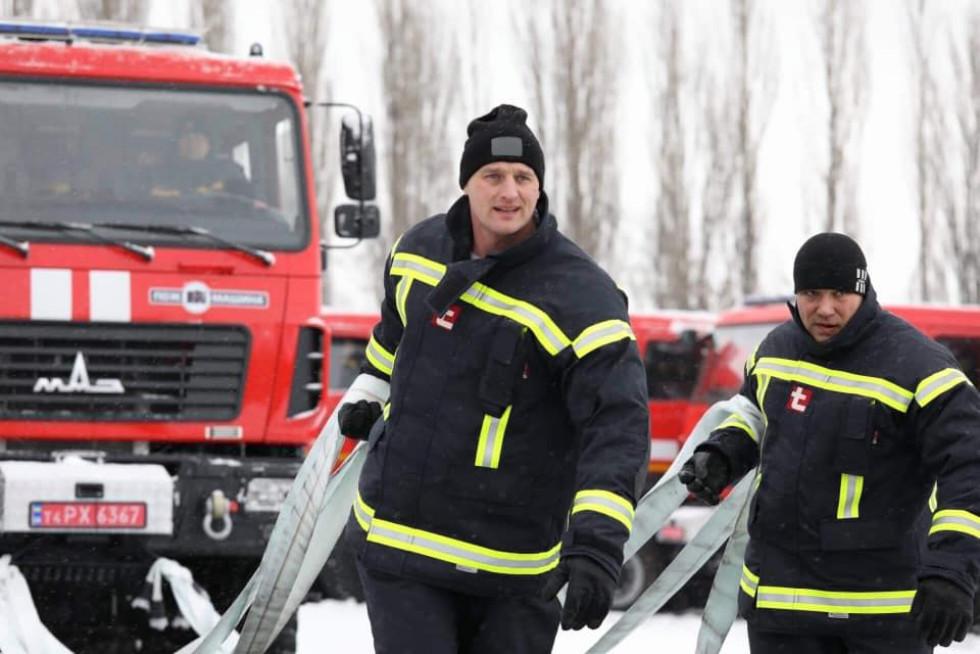 Змагання рятувальників