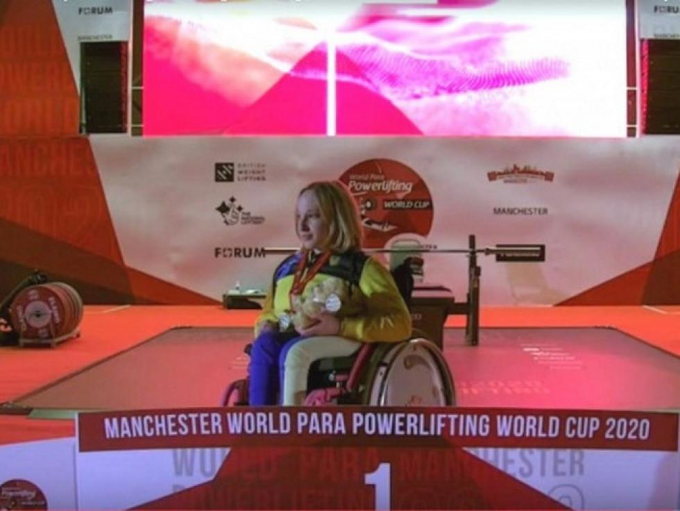 Ковельська спортсменка Ксенія Токар стала володаркою Кубку світу з парапауерліфтингу